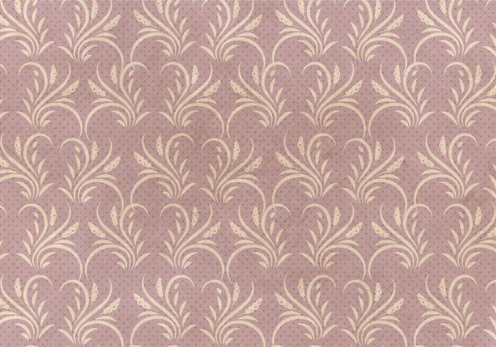Free Seamless Flourish Pattern seamless pattern vecteur