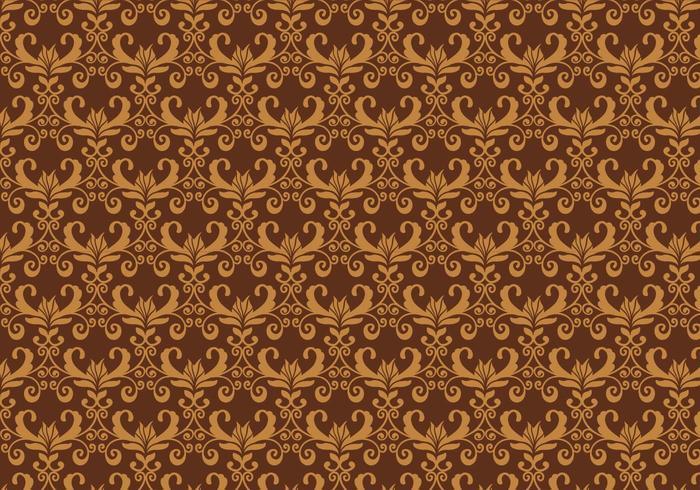 Vecteur marron pattern western flourish