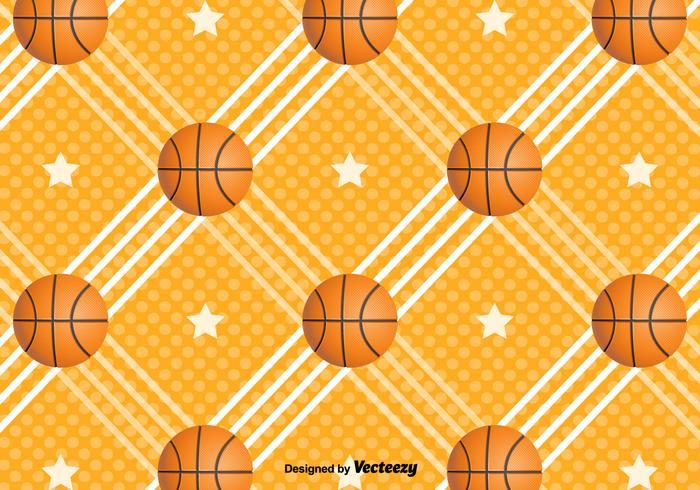 Fond de vecteur basketball