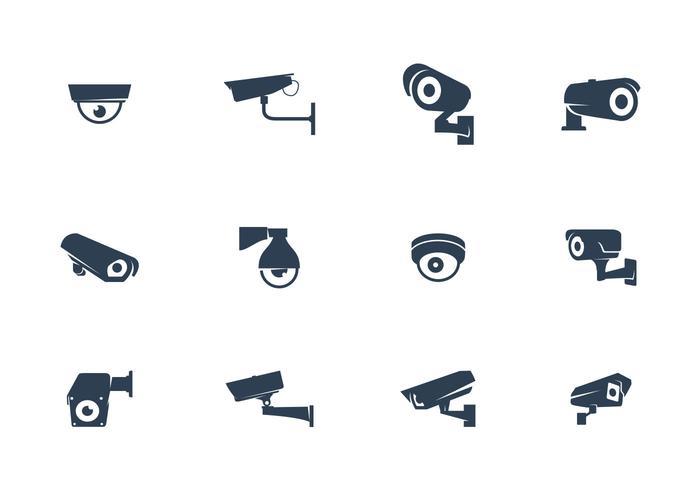 Caméras CCTV Vecteur
