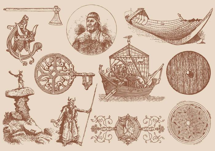 Viking Elements vecteur