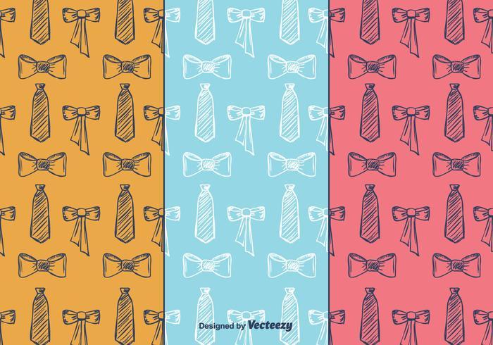 Vecteur de motif cravate