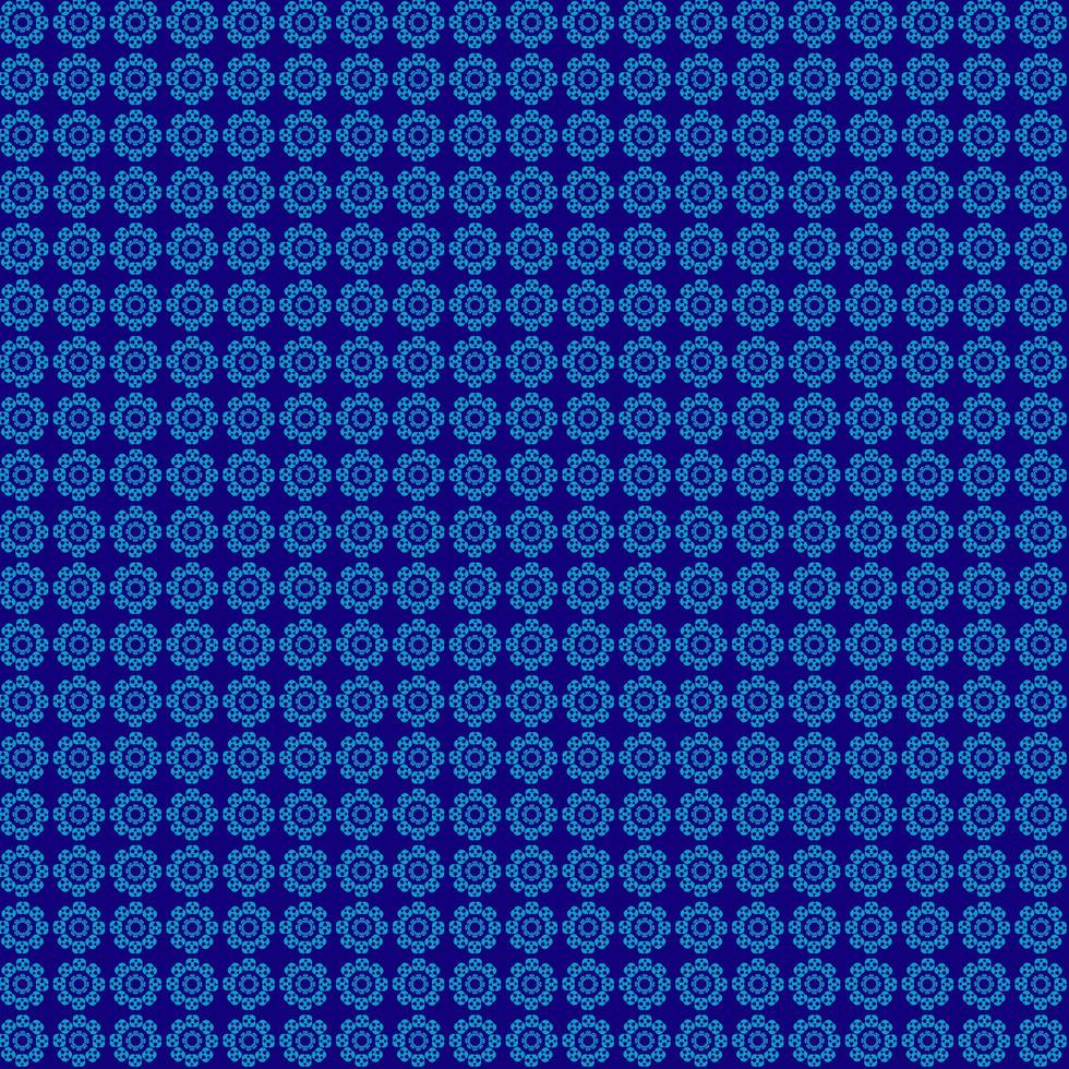 cercles de motif bleu vecteur