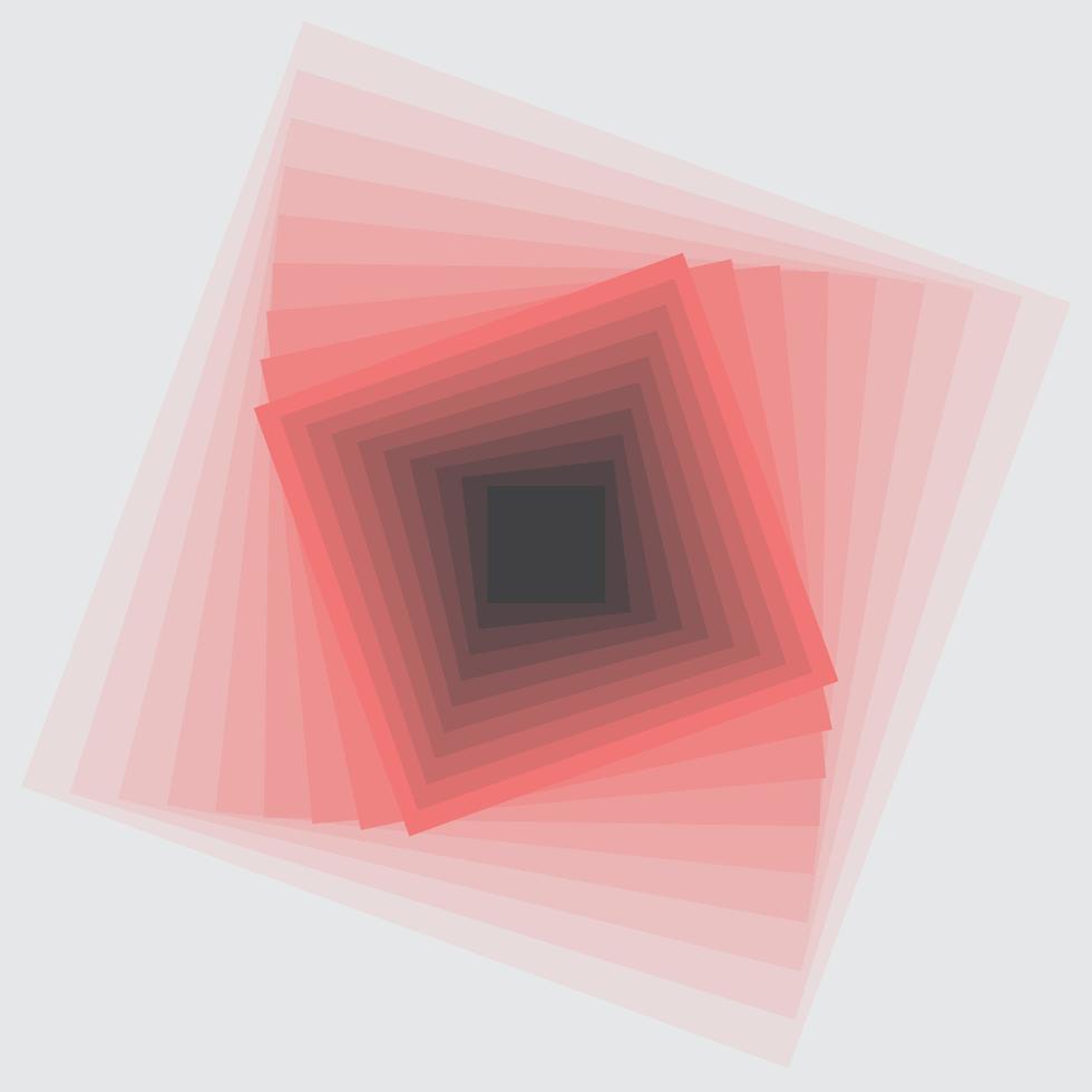illusion d'optique abstraite vecteur
