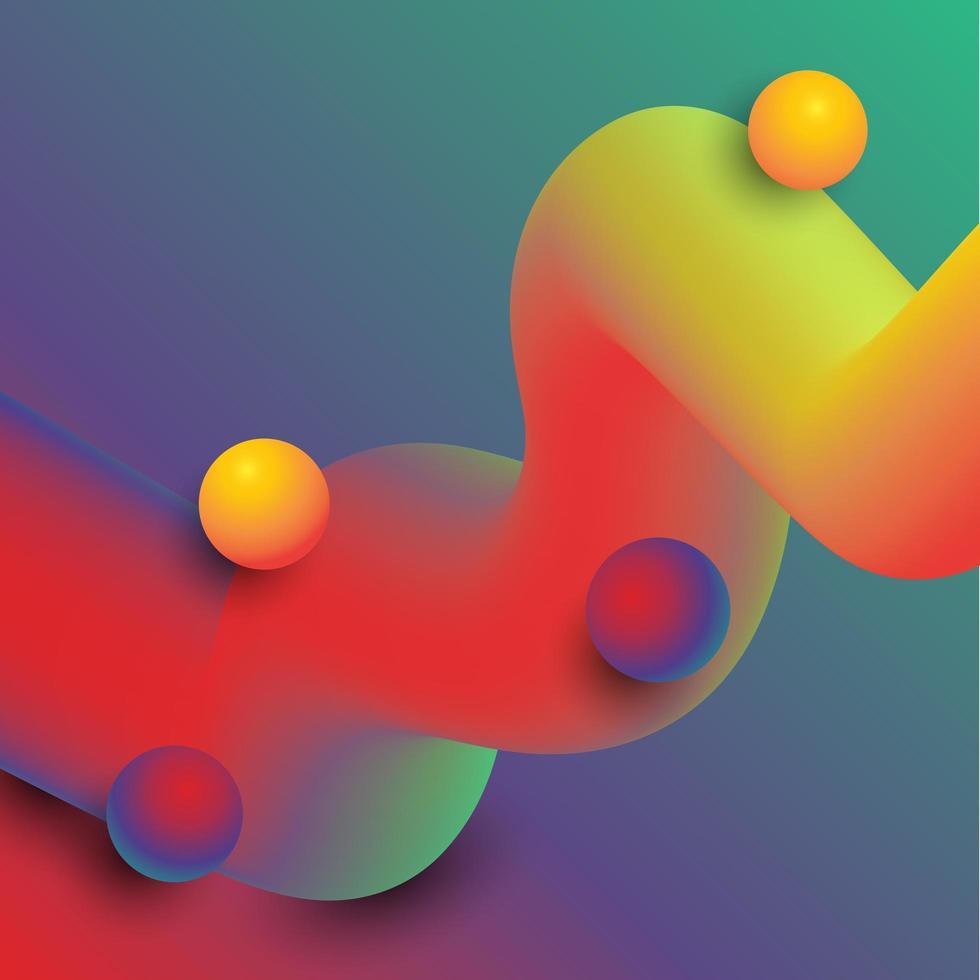 fond abstrait mélange moderne vecteur