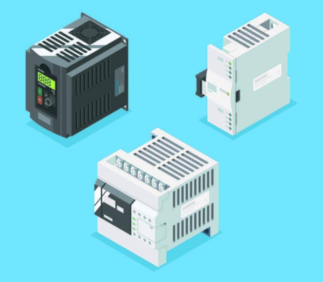 équipement de système de PLC vecteur