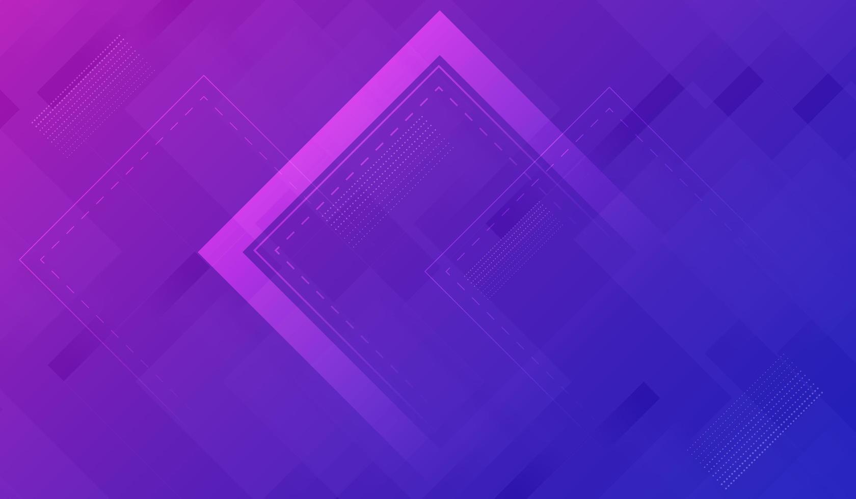 design géométrique bleu et rose vecteur