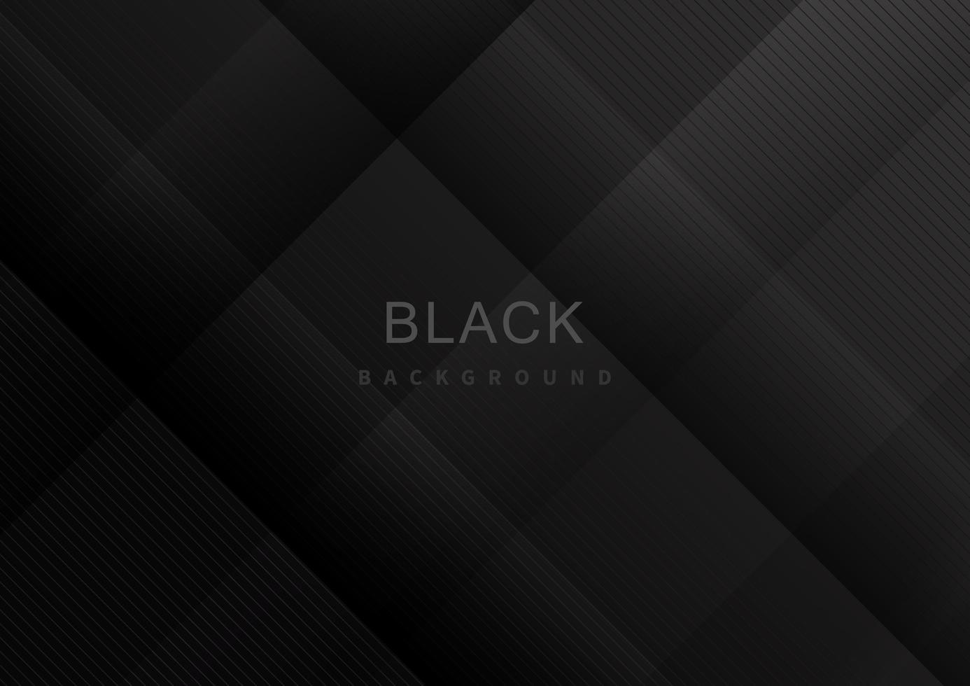 motif de lignes rayées noir et gris vecteur