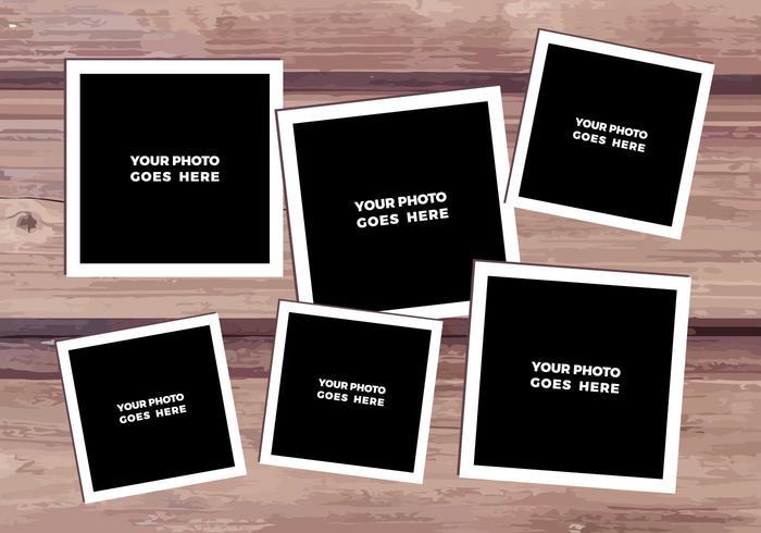 Collage de photo de vecteur gratuit 1