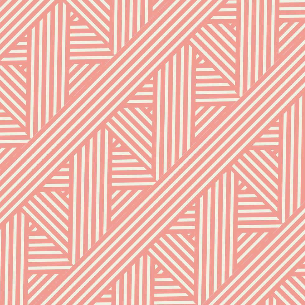 motif rayé de style rétro vecteur