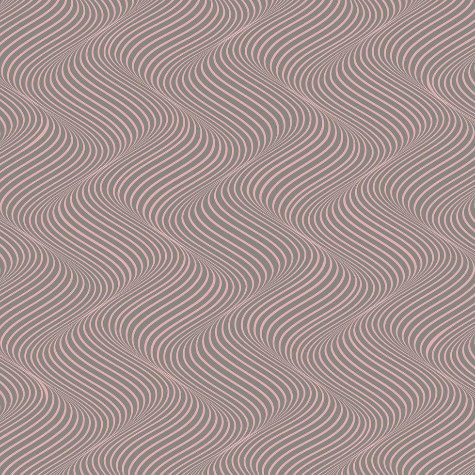 illusion d'optique ondulée abstraite vecteur