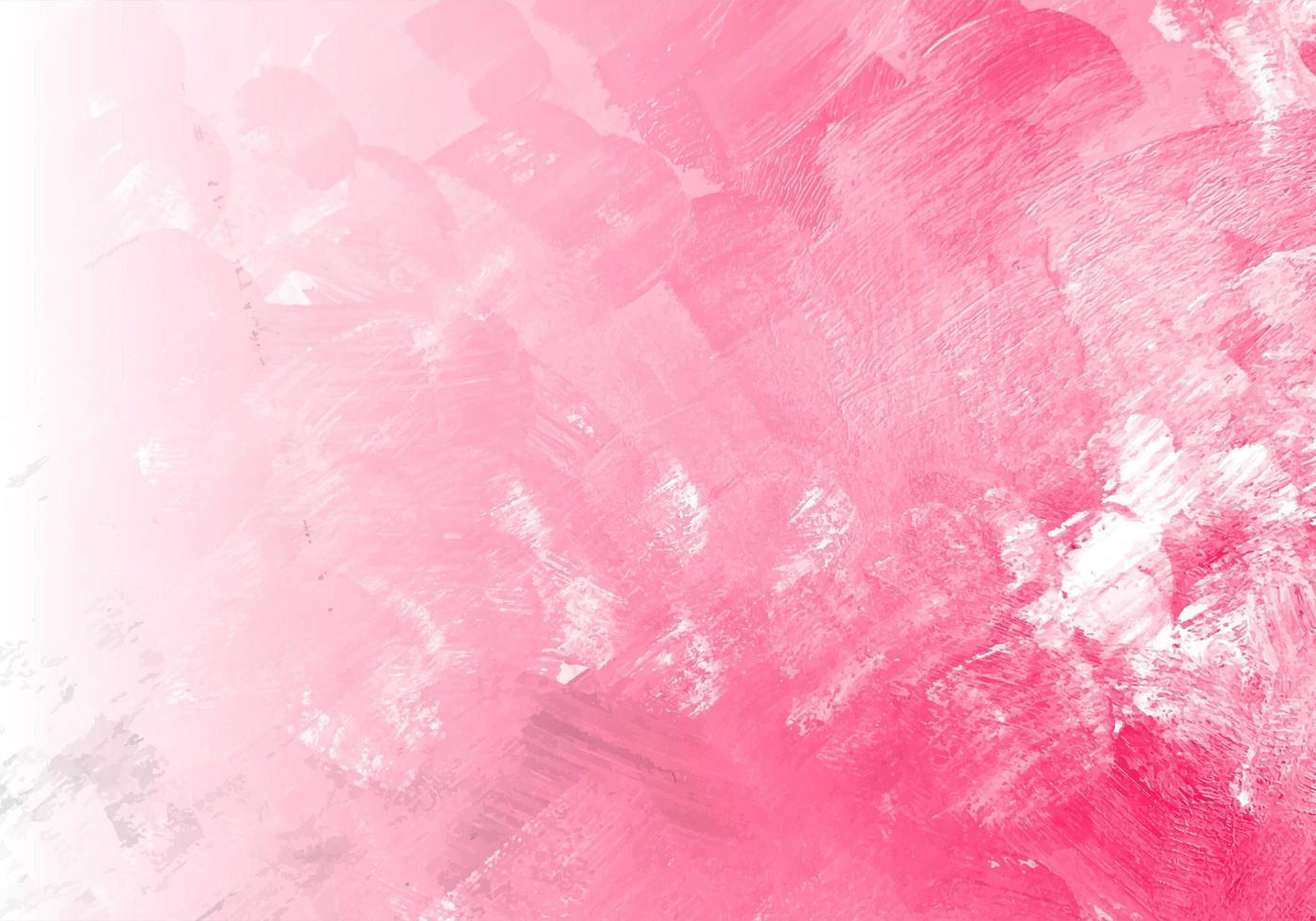 texture aquarelle rose abstraite vecteur