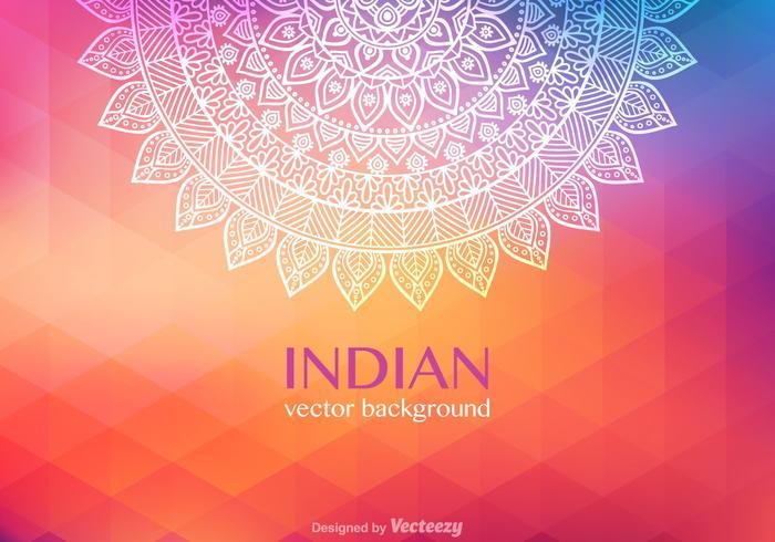 Fond de vecteur indien gratuit