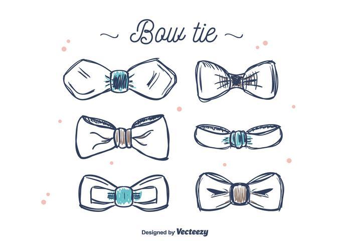Bow Tie Vector Set