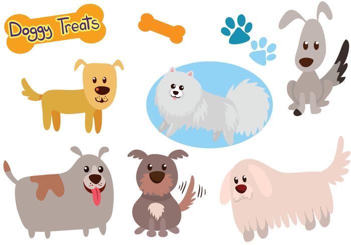 Vecteurs de chiens gratuits vecteur