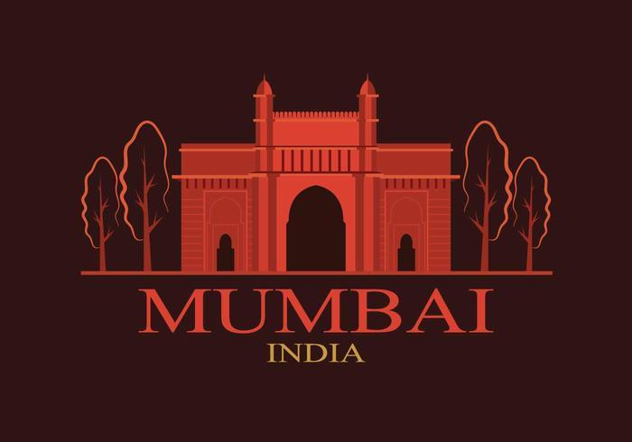 Illustration Mumbai gratuite vecteur