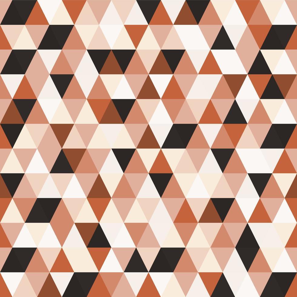 modèle sans couture triangle mosaïque géométrique vecteur