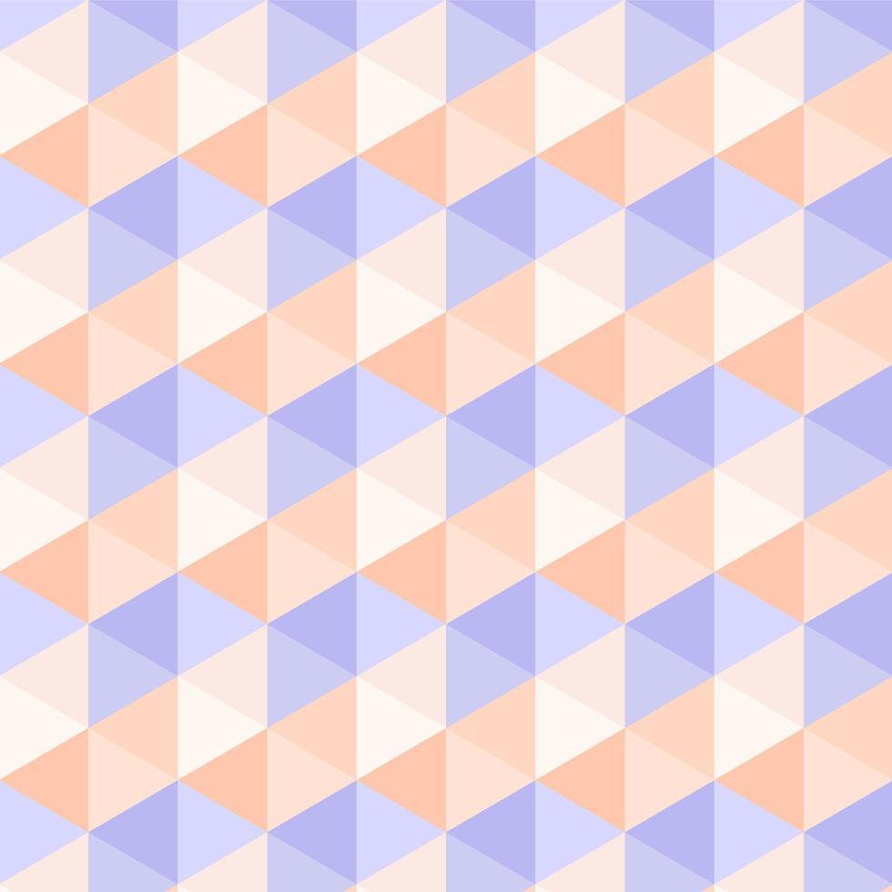 modèle de triangle pastel abstrait sans soudure vecteur