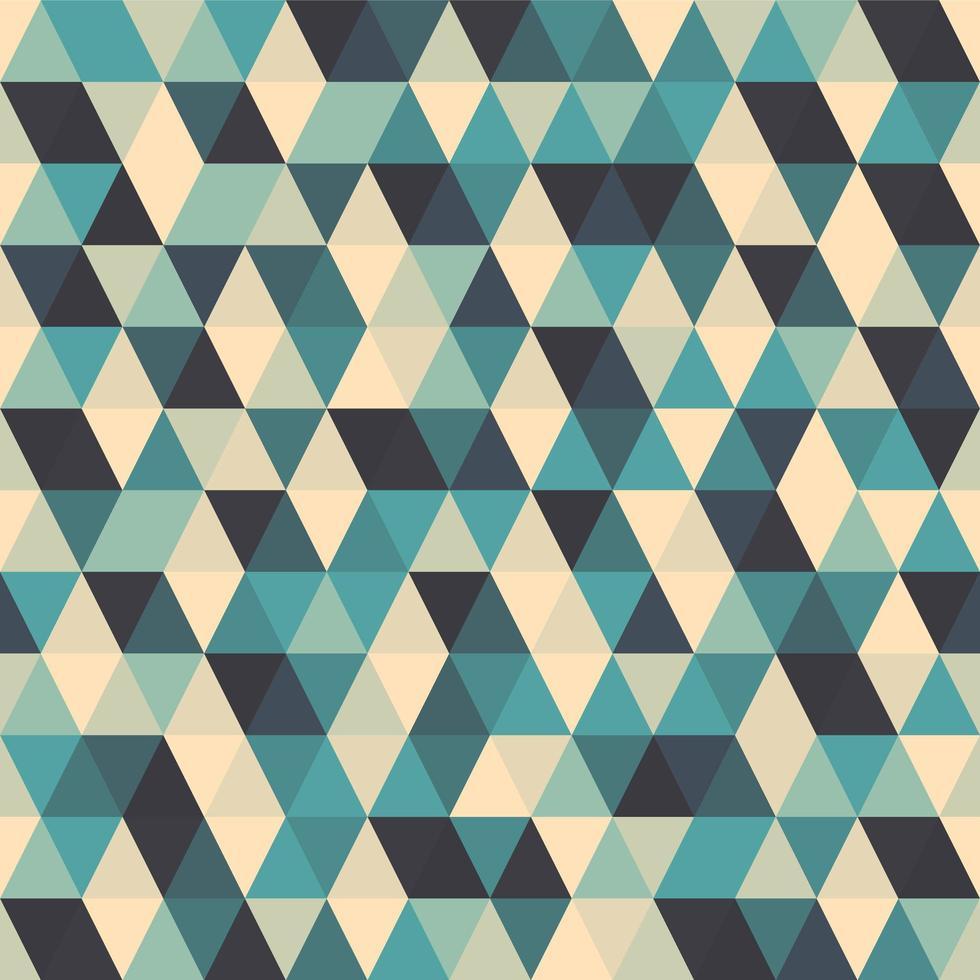modèle sans couture triangle géométrique abstrait vecteur