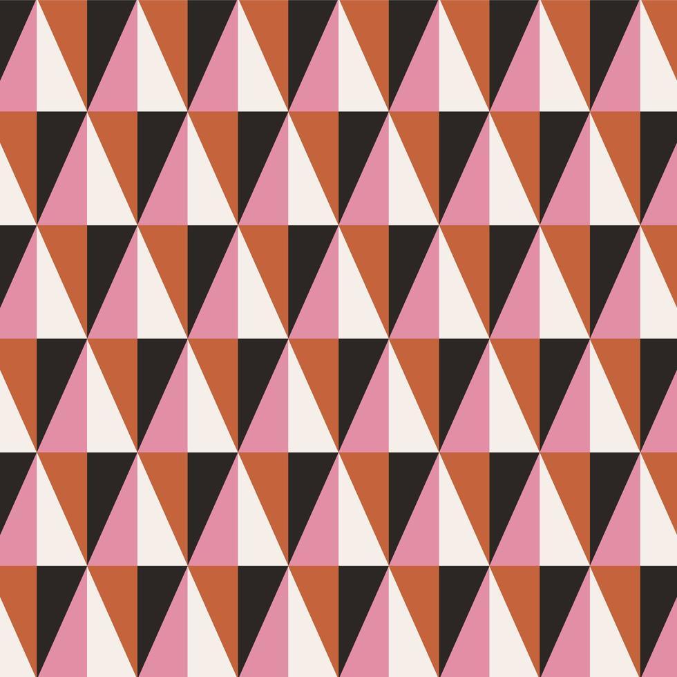 modèle sans couture géométrique triangle abstrait vecteur