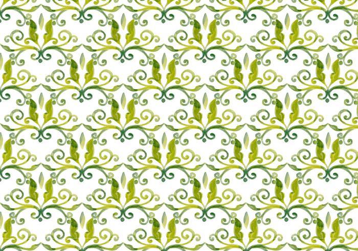Olive Green Vector Aquarelle Fond Royal