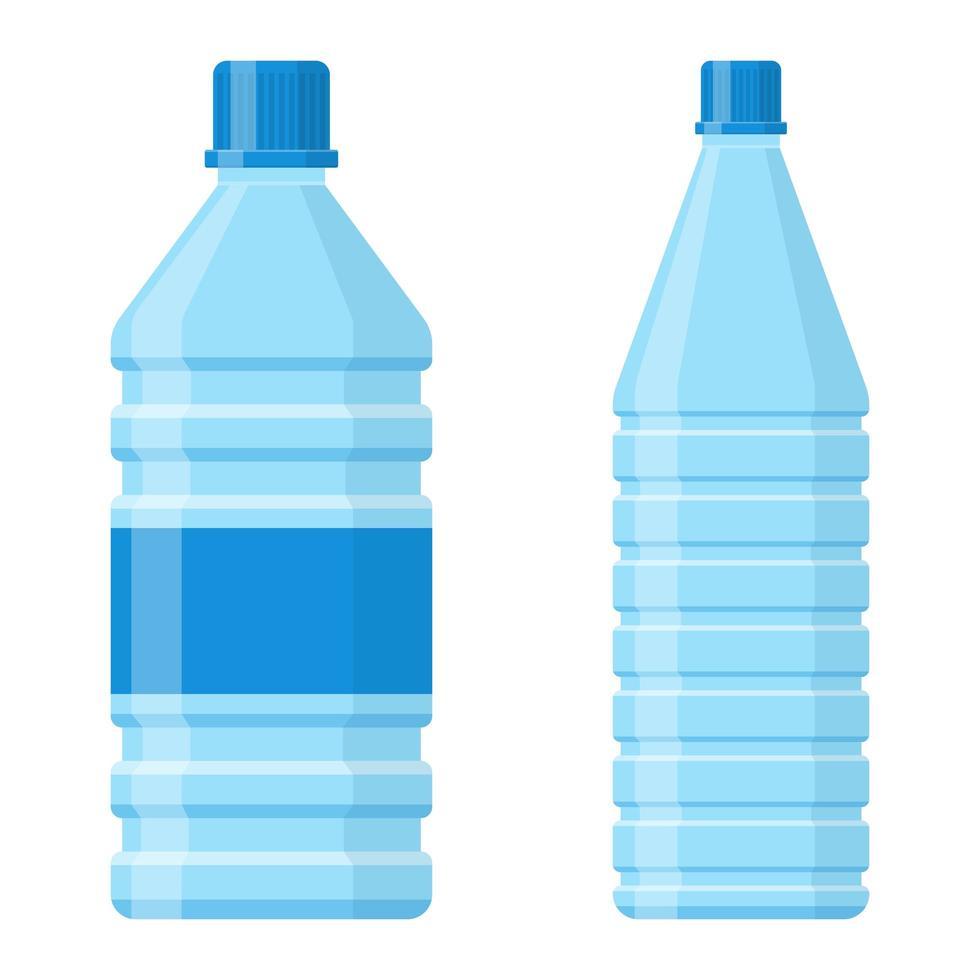 bouteille d'eau isolée vecteur
