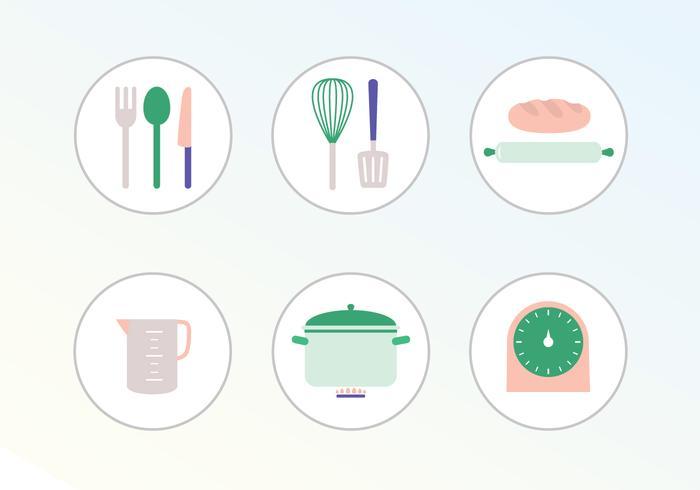 Illustration vectorielle de cuisine vecteur