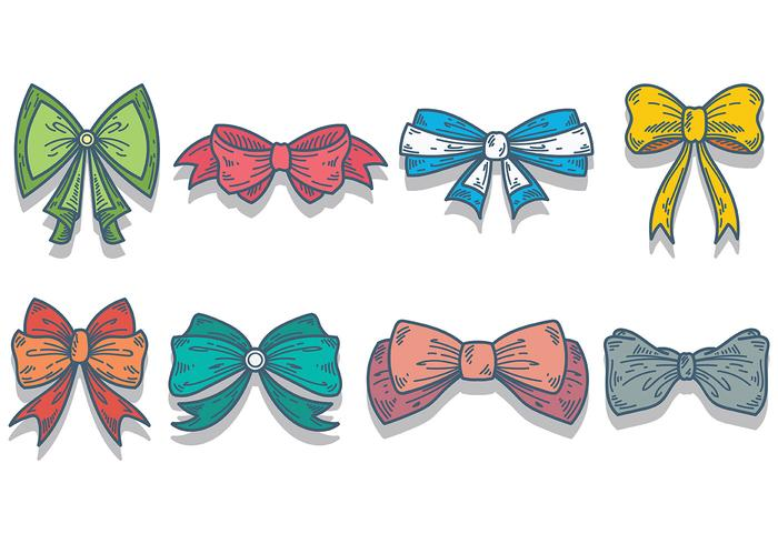 Libre vecteur papillon Icons