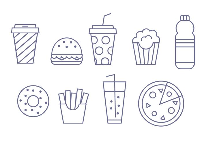 Vector Fast Fast Food gratuit