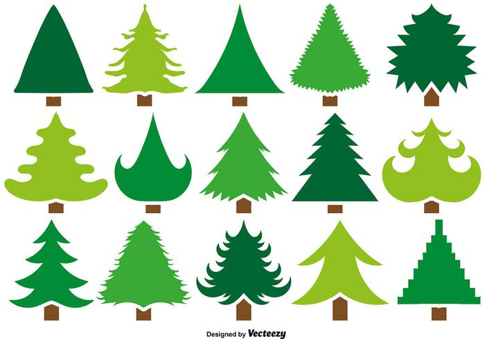 Ensemble vectoriel de 15 icônes de pin