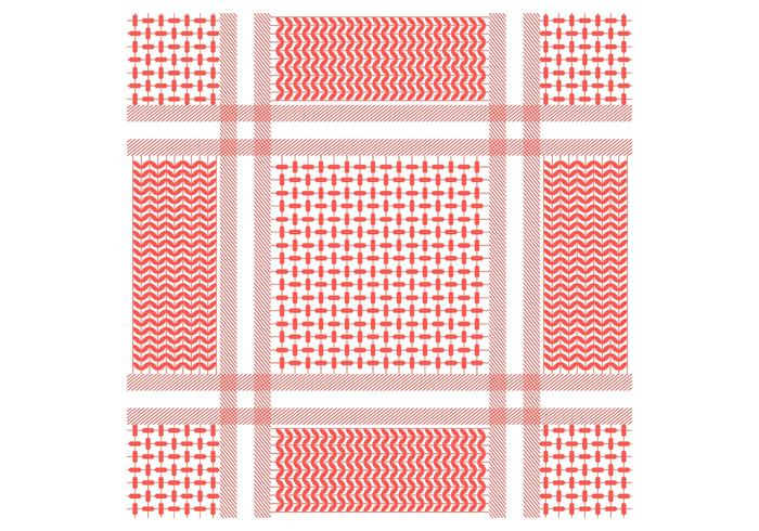Keffiyeh Seamless Pattern vecteur