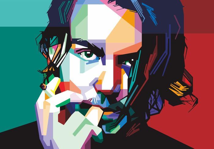 Vecteur Johnny Depp