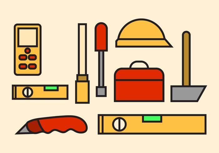 Vecteur d'outils gratuits