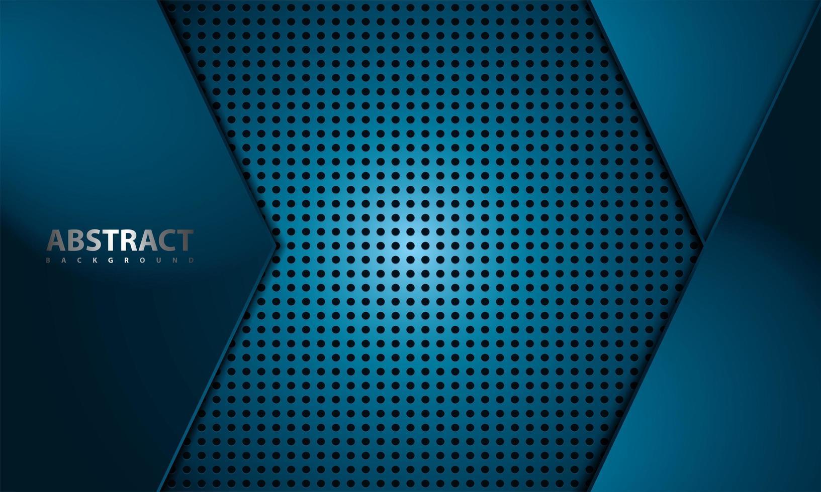 conception en fibre de carbone bleue vecteur