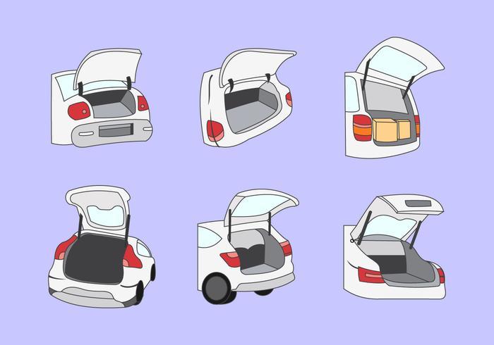 Illustration vectorielle de démarrage de voiture vecteur