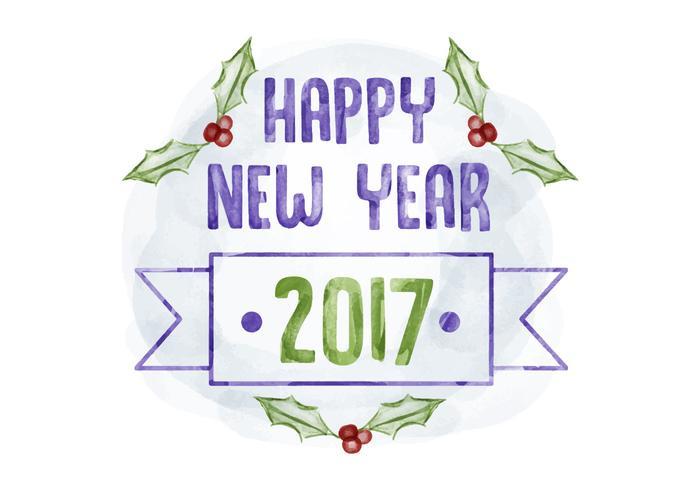 Bonne année d'antécédents vecteur