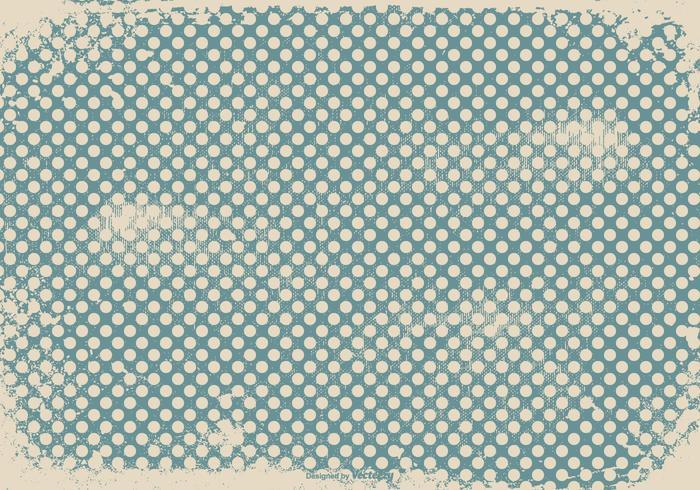 Fond d'écran Grunge Polka Dot vecteur