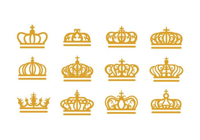 Vecteur de couronne britannique