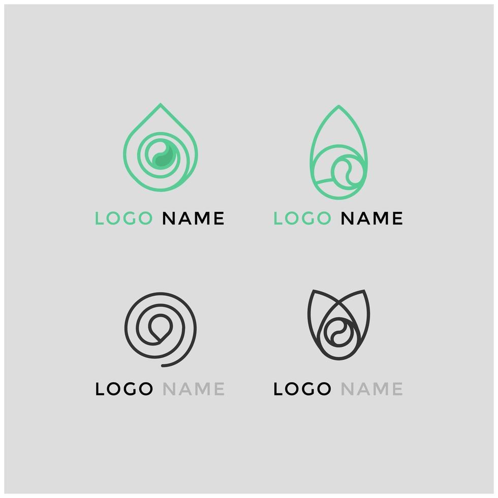 modèles de logo pour les entreprises de café vecteur