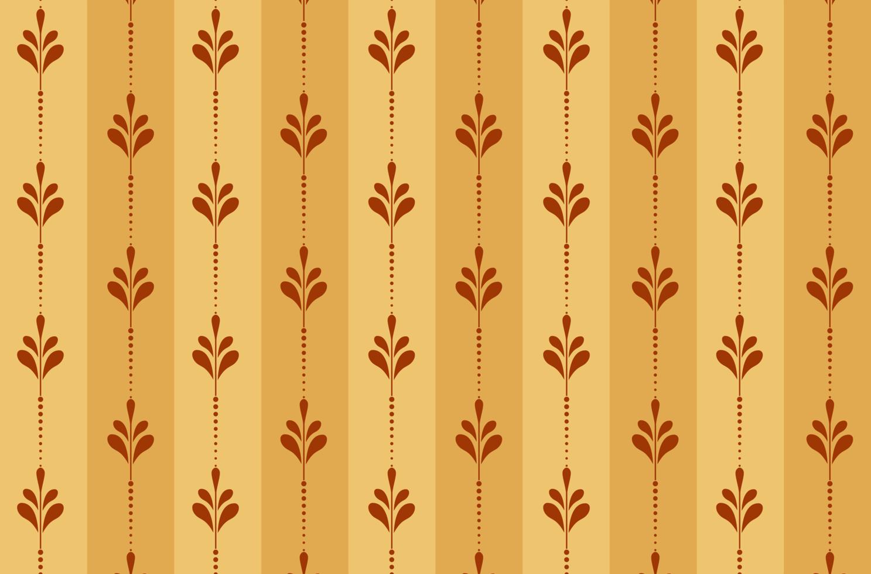 conception de modèle de mur floral vecteur