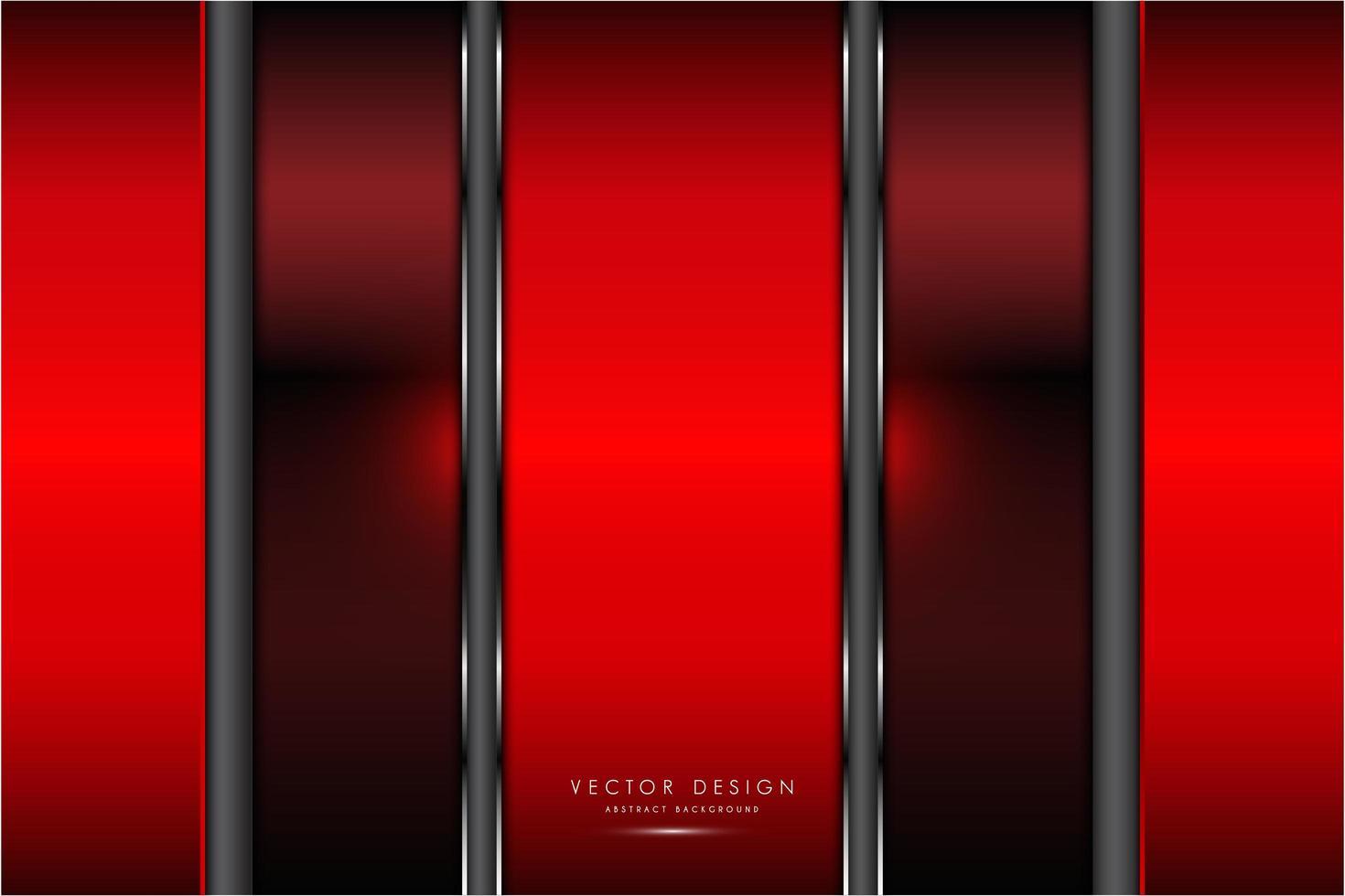 texture métallique rouge avec lumière lueur vecteur