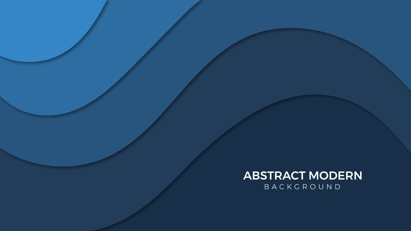 abstrait avec mouvement bleu vecteur