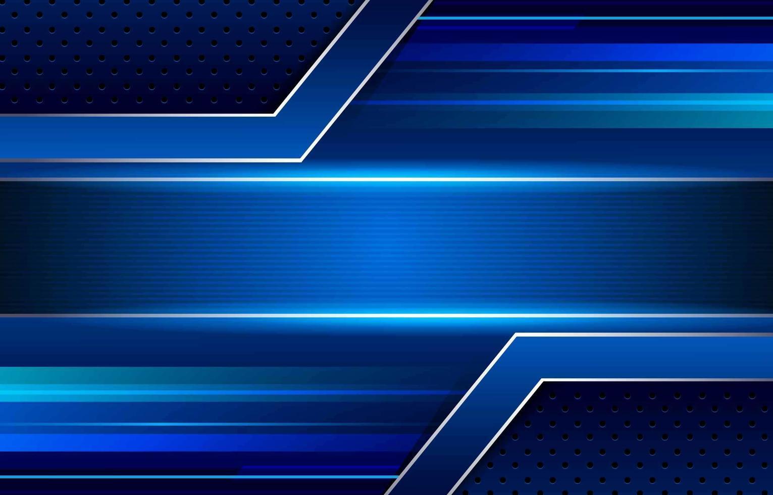 fond bleu dynamique abstrait vecteur