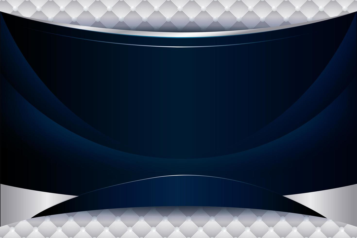 fond bleu élégant avec dégradé de vagues vecteur