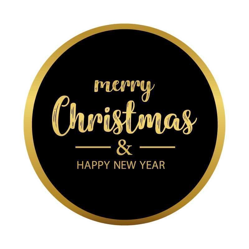 joyeux Noel et bonne année vecteur