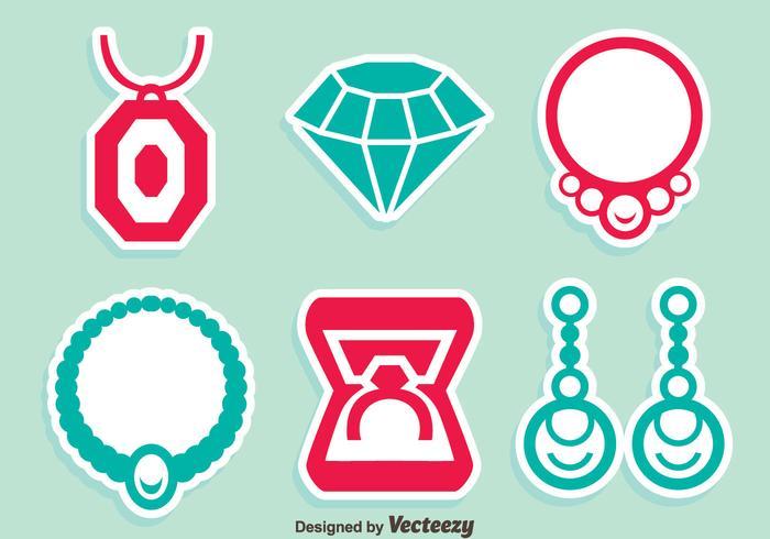 Bijoux NIce Icons Vector