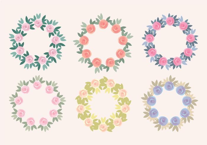 Collection Vector Rose Heartreats