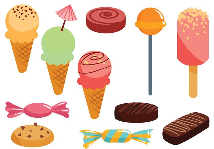 Sweets gratuit Vecteurs vecteur
