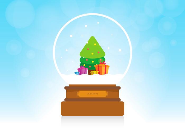 Cadeau de Noël Sapin vecteur
