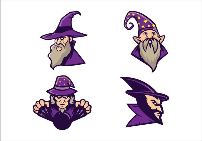 Free Wizards Vector